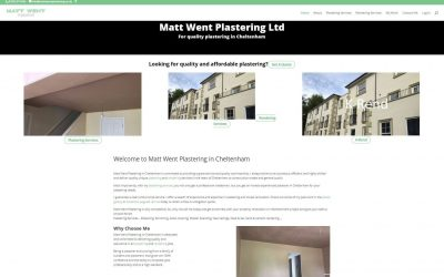 Congratulations to Matt Went Plastering