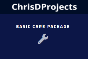 WordPress Care – Basic Package – Per Month